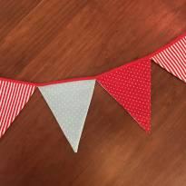 Varal Bandeirolas de Tecido -  - elo7