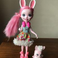 Enchantimals Boneca e Bichinho Bree e Twist -  - Mattel