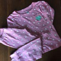 Pijama Carter`s Rosa - 3 anos - Carter`s