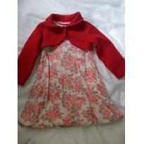 Vestido flor de inverno - 3 anos - Randa Mundu