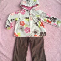 Conjunto Fleece - 18 meses - Carter`s