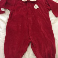 Macacão Beth Bebê - 6 a 9 meses - Beth Bebê