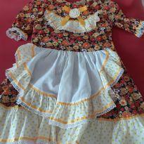 Vestido festa junina - 8 anos - Sem marca