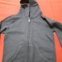 Blusa jaqueta de moletom - 4 anos - Hering Kids