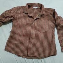 Camisa social xadrez - 3 anos - Babysol