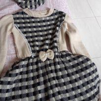 Vestido de inverno - 4 anos - Feito à mão