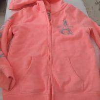 Blusa moletom jaqueta - 5 anos - OshKosh