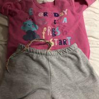 Pijama inverno flanelado - 6 anos - Malwee