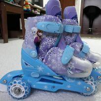 Patins 3 rodas ajustáveis do 27 ao 30 Importados Disney Frozen -  - Disney