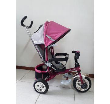 Triciclo 3 em 1 Premium Vira Carrinho, Triciclo e Bicicleta eBaby - Novíssimo - Sem faixa etaria - Baby