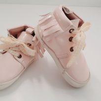 Botas com franjinha rosa bebê no. 19 - 19 - Offcorss