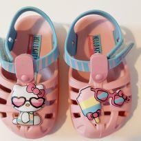 Sandália Summer Baby Grendene Hello Kitty no. 17/18 - 17 - Grendene