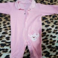 Macacao rosa - 3 a 6 meses - Boulevard Baby