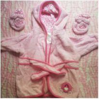 Roupão bebê - 6 a 9 meses - Disney baby