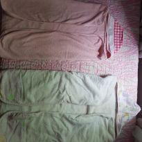 2 toalhas banho bebê -  - Sem marca