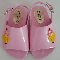 Sandália Slide rosa