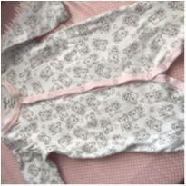Macacão Usrinha - 0 a 3 meses - Tilly Baby