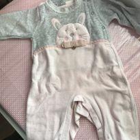 Macacão coelhinho - 3 a 6 meses - Miniclô