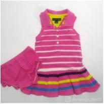 Vestido Tommy Hilfiger baby - 6 a 9 meses - Tommy Hilfiger