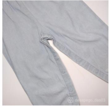 Macacão jeans Carter`s - 18 meses - Carter`s