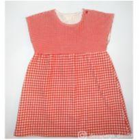 Vestido vermelho xadrez baby Zara - 2 anos - Zara