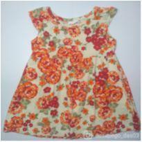 Vestido laranja - 2 anos - Brandili
