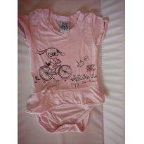 Macaquinho bicicleta - 6 a 9 meses - Randa Mundu