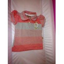 Camisa polo - 2 anos - Kiki Xodó