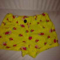 Shorts amarelo - 1 ano - Póim