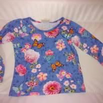 Blusinha florida primavera - 12 a 18 meses - Mineral Kids