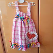 Vestido caipira - 18 a 24 meses - Zara Baby