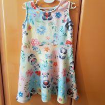 Vestido estampado - 4 anos - Mon Sucré
