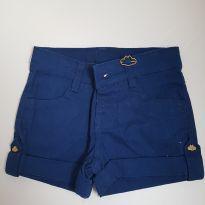 Shorts azul marinho - 3 a 6 meses - Lilica Ripilica