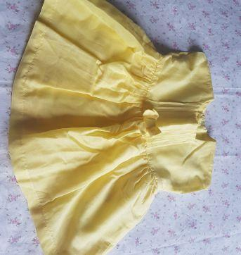 Vestido Amarelo -  My first Chicco - Recém Nascido - Chicco