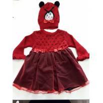 Vestido de joaninha Fofinho - 3 meses - Fofinho