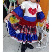 Vestido festa junina - 8 anos - Lime light