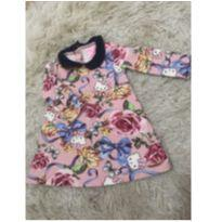 Vestido Hello Kitty 6-9 M - 6 a 9 meses - Hello Kitty by Sanrio