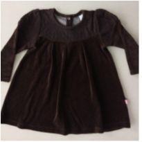 8. Vestido de veludo manga longa Le Petit - 2 anos - Le Petit e Le Petiti
