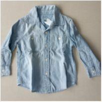 32. Camisa jeans Gap - 2 anos - GAP