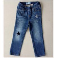 16. Calça Jeans Gap Estrelas - 3 anos - GAP e Gap/ Green/ Noruega