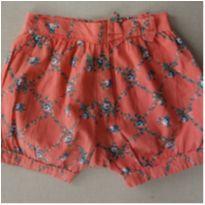 21. Shorts Milon Floral - 2 anos - Milon
