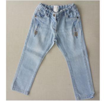 26. Calça Jeans Baby Club com ajuste interno - 18 a 24 meses - Baby Club