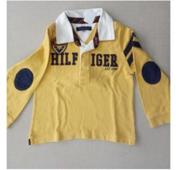 44. Polo Tommy Hilfinger manga longa - 3 anos - Tommy Hilfiger