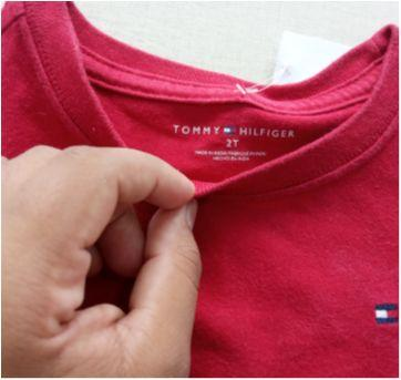55. Camiseta Tommy Hilfinger manga longa - 2 anos - Tommy Hilfiger