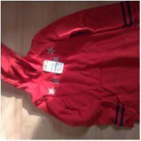 Blusão moletom tradicional vermelho Malwee - 6 anos - Malwee