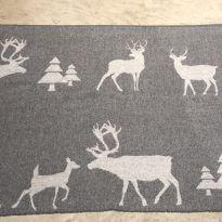 Manta de lã escandinava -  - Não informada