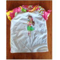Camiseta com proteção solar - 4 anos - Klin, Ipanema, Gimboree