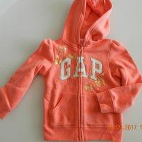 CASACO GAP LARANJA - 5 anos - Baby Gap