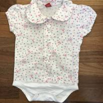 BODY CAMISA - 6 a 9 meses - Get Baby