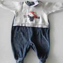 MACACÃO QUENTINHO - 3 meses - Baby Classic
